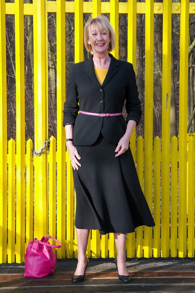 Black skirt suit Max Mara