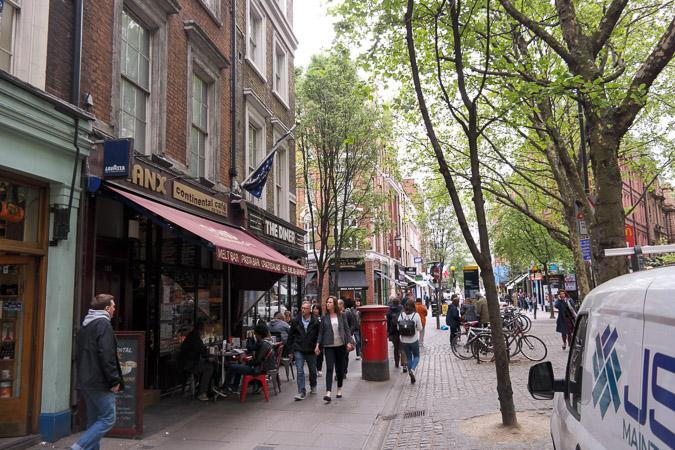 London in April