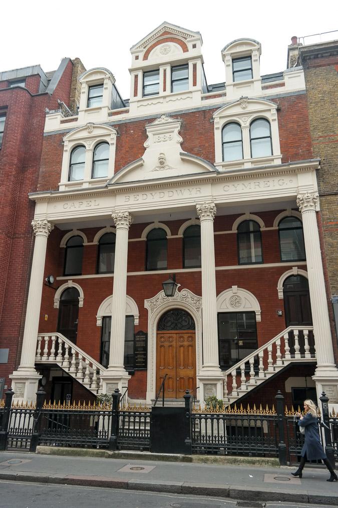 London in April . near Oxford Street