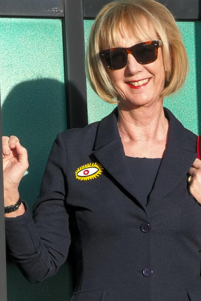 Spijkers&Spijkers brooch