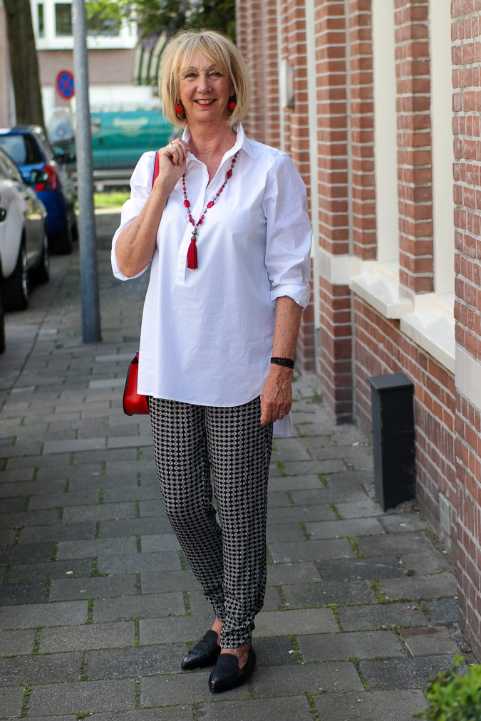 Bellamy Gallery shirt and Eijk flat shoes