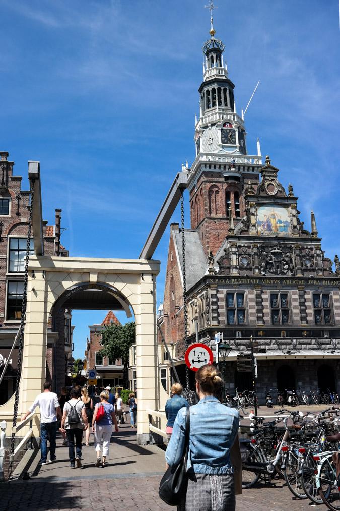 Shopping in Alkmaar with Sylvia