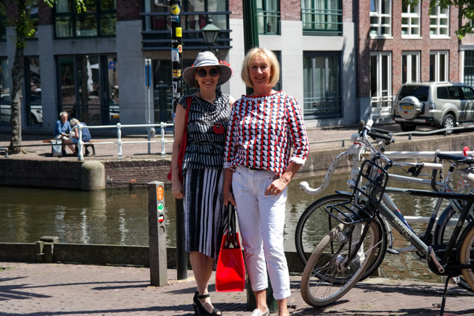Shopping in Alkmaar with Sylvia