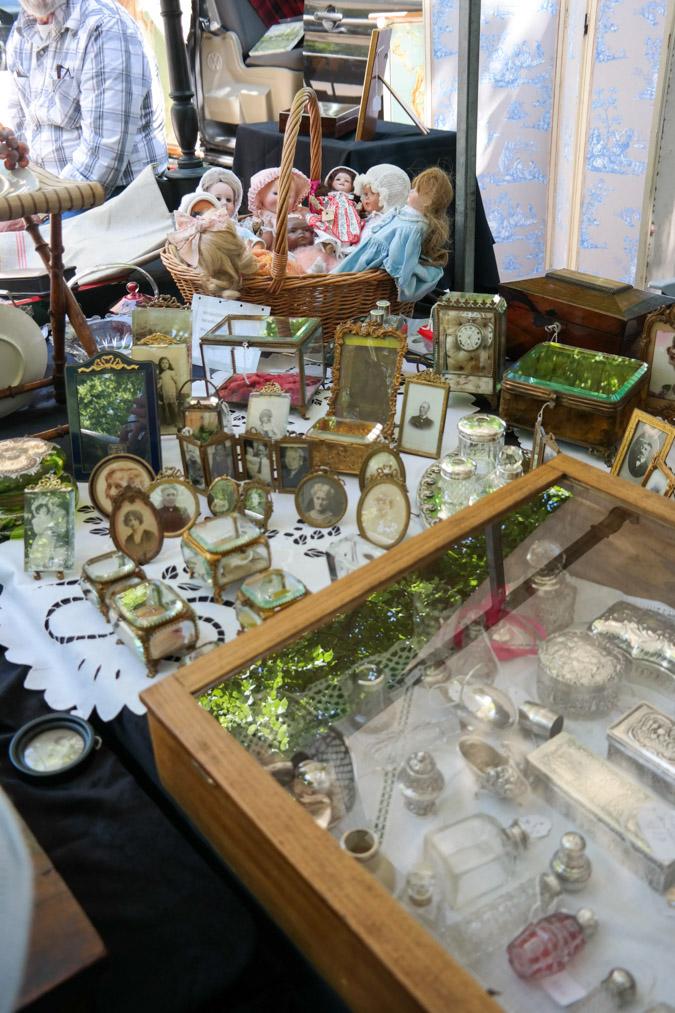 Brocante market in Haarlem