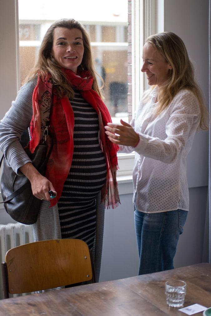 Anke and Sabine