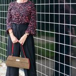 Piazza Sempione trousers with a print top