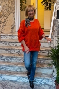 Orange sweater by American Vintage