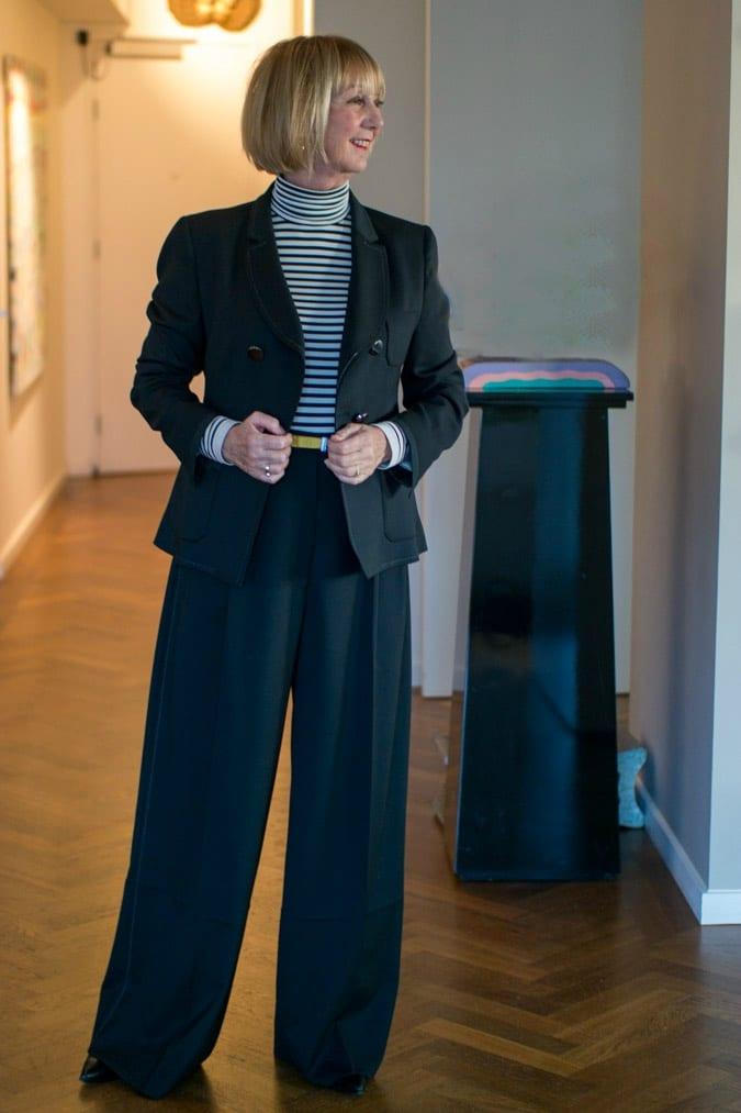 Piazza Sempione trouser suit