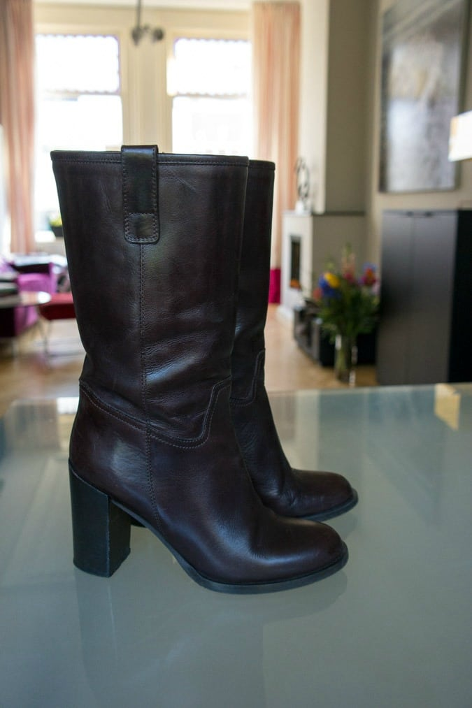 Brown boots Max Mara