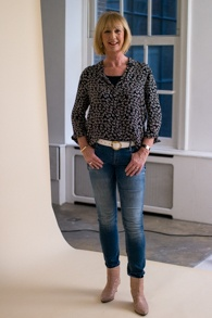 Ganni shirt, Denham jeans, Eijk boots