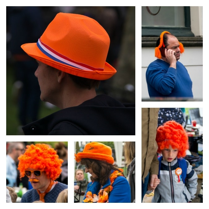 King's Day hats