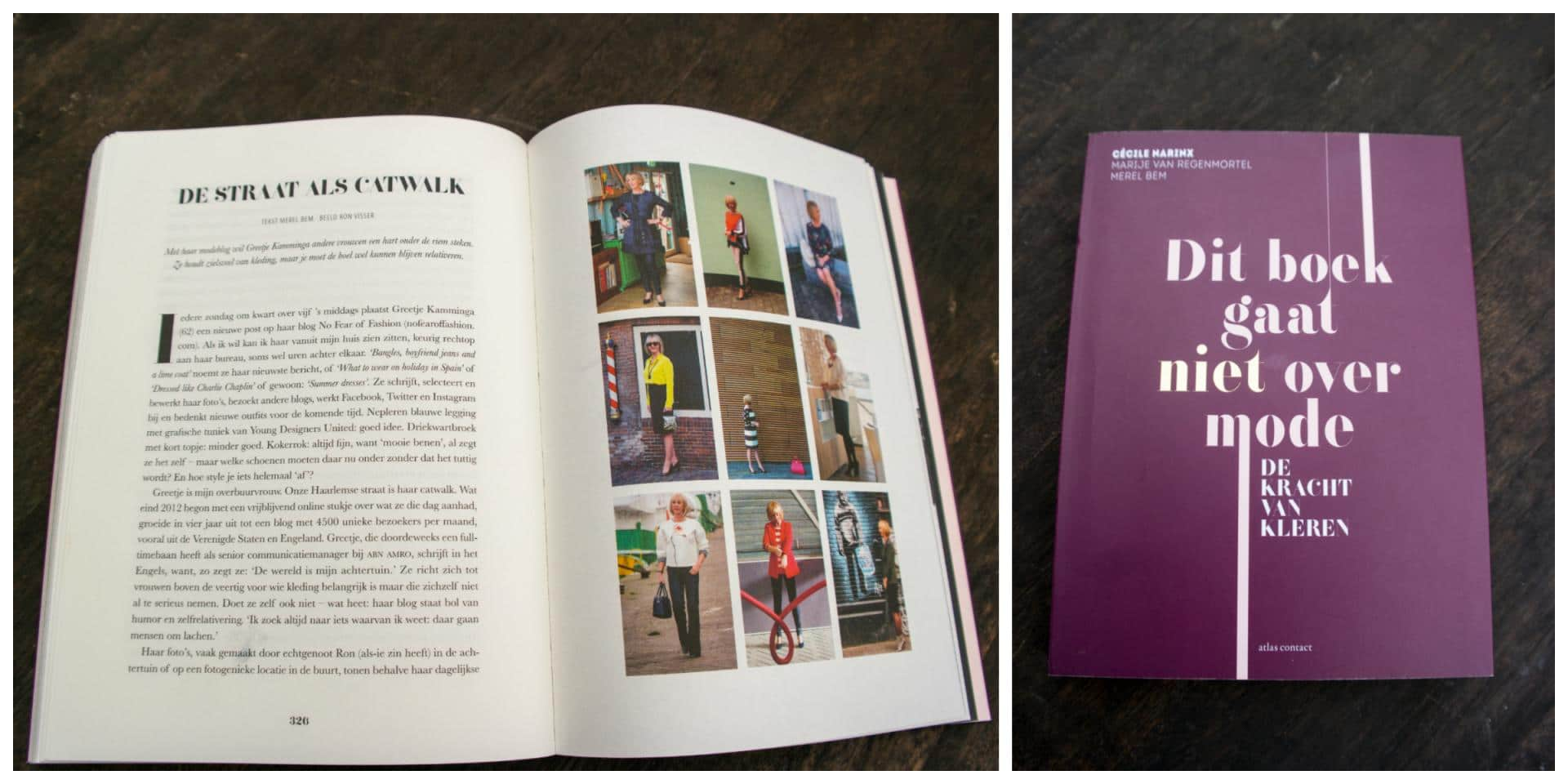 "No Fear of Fashion featured in book ""This book is not about fashion"""