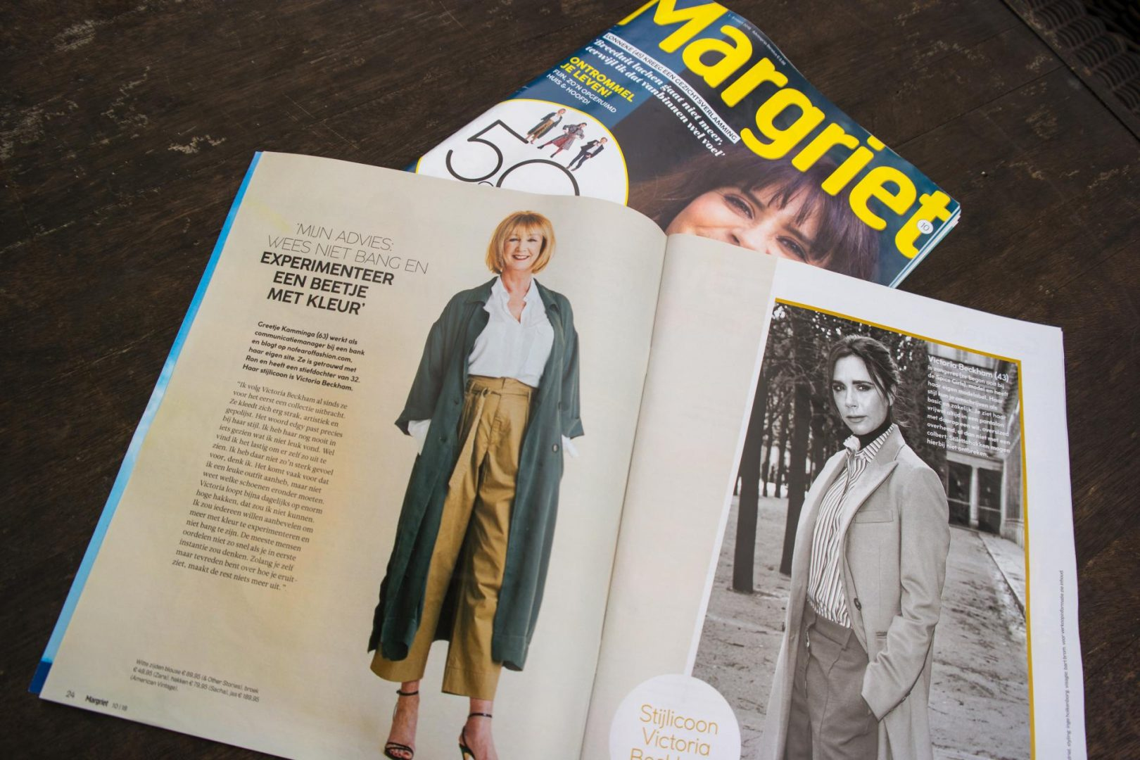 Dutch Magazine Margriet featuring No Fear of Fashion