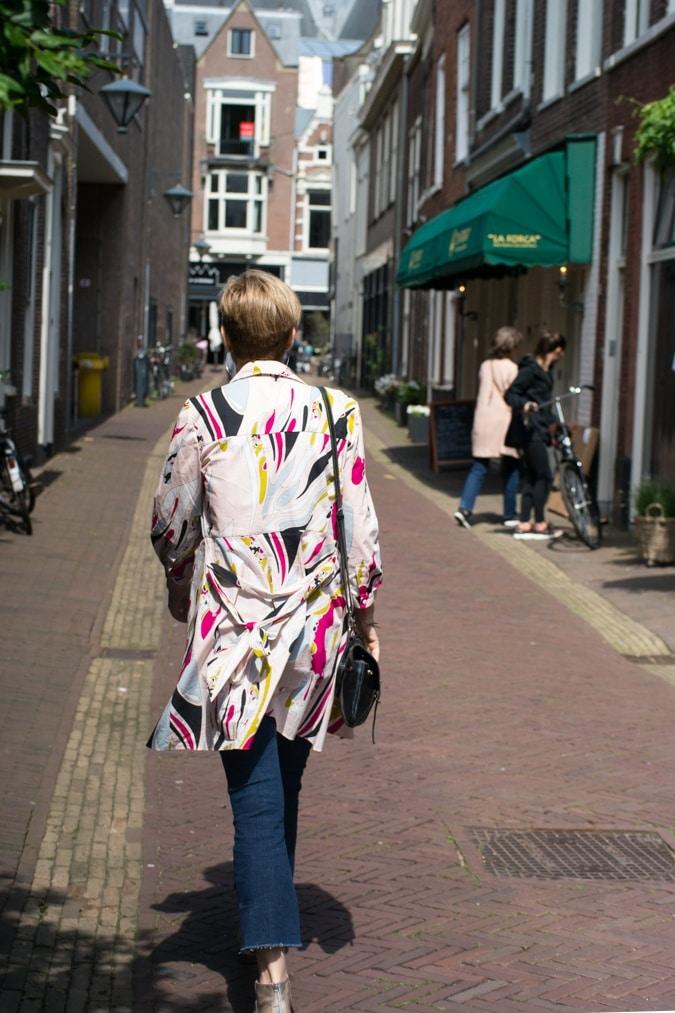 With Sylvia of 40+Style in Haarlem