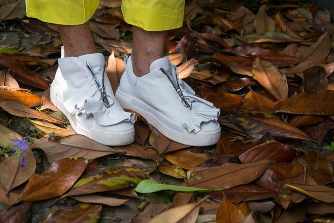 White sneakers Vic Matié