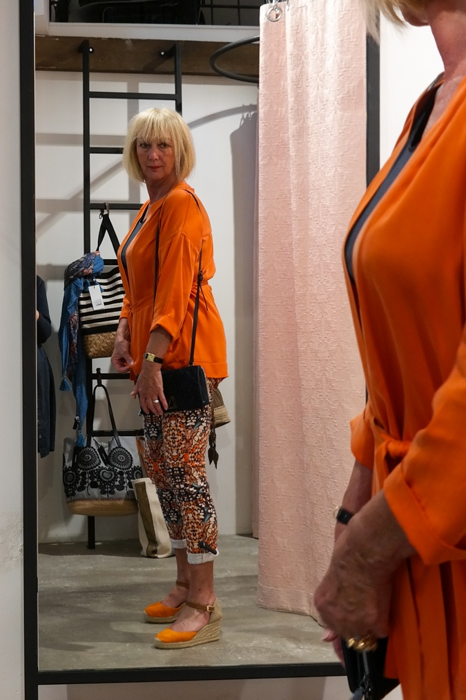 Orange clothes