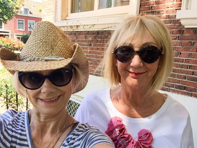 Karen and Greetje