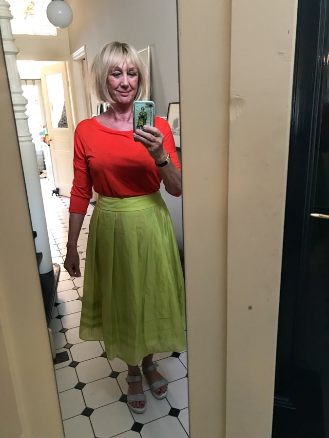 Fun outfits Marc Cain skirt