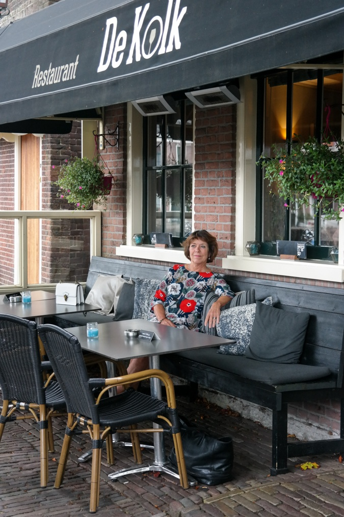 Loes in Restaurant De Kolk in Spaarndam