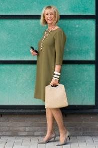 Green second hand dress