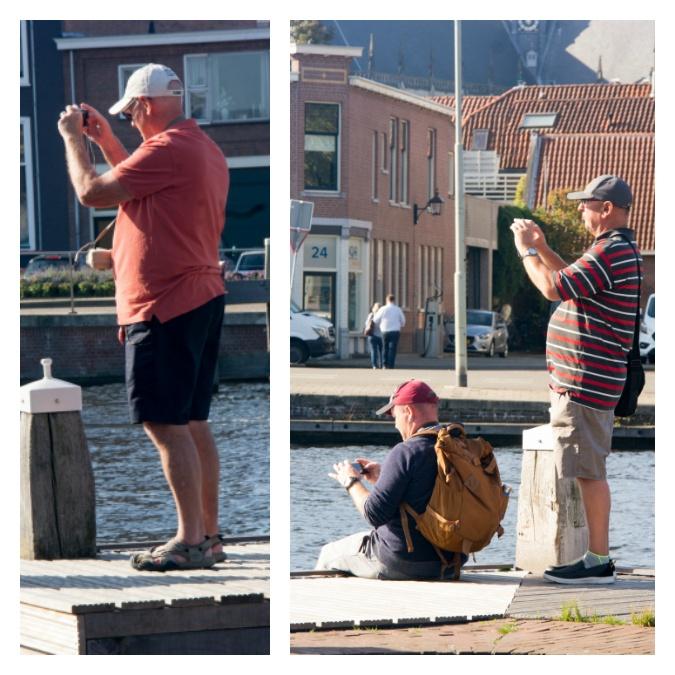 Photographing men in Haarlem