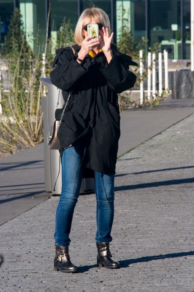 Black parka Annette Görtz