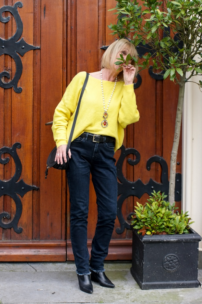 Yellow jumper American Vintage