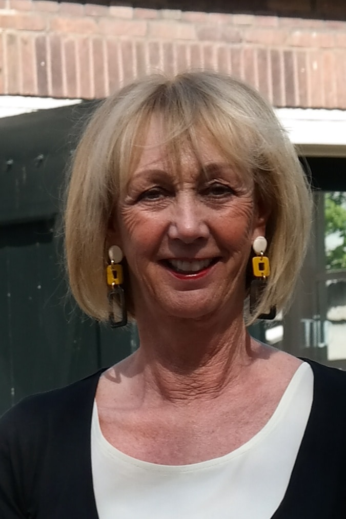 Yellow, white and black earrings