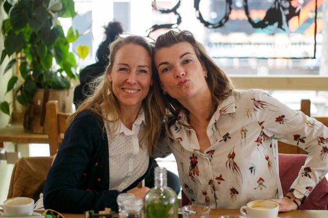 Sabine and Anke