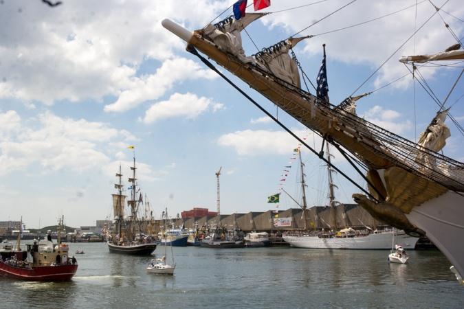 Tall ships at Sail 2019 Scheveningen