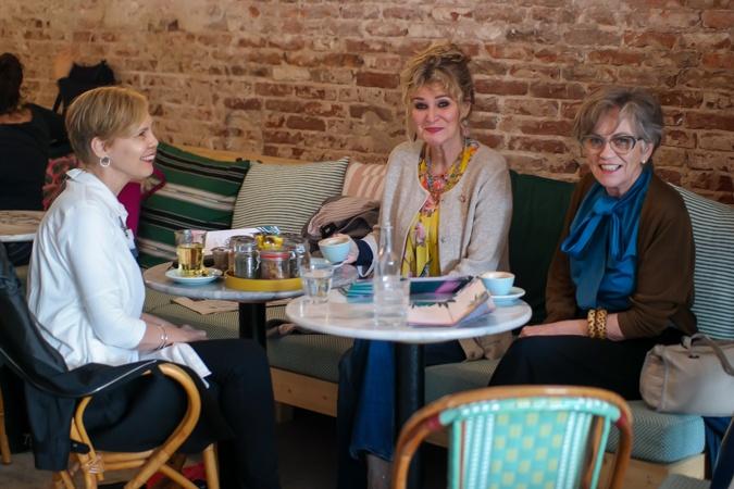Sylvia, Anja and Misja