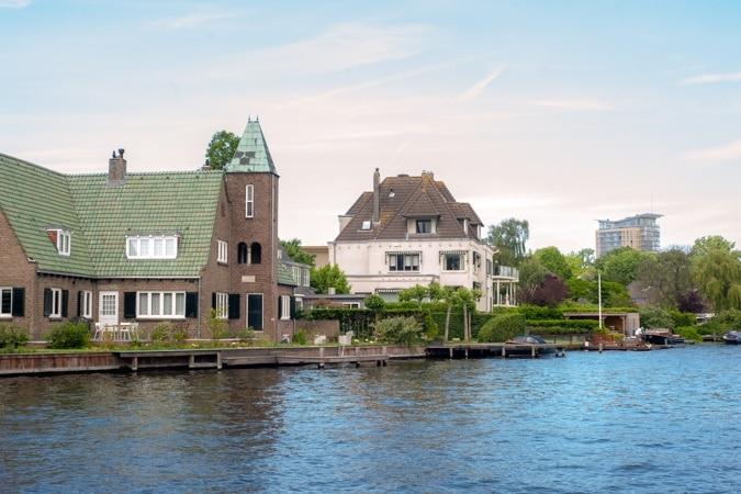Haarlem ferry Spaarne
