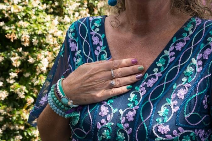 Anja nails and bracelets