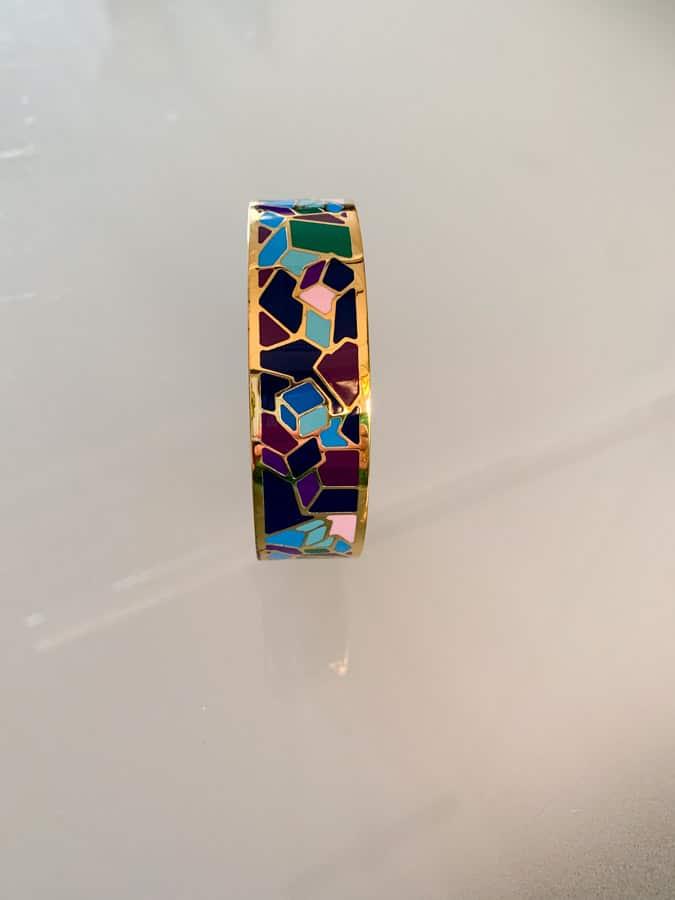 Multi-coloured bracelet