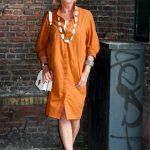 The saffron shift dress I hate