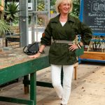 Green jacket by Cabi