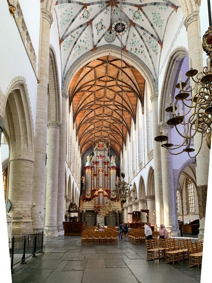 Saint Bavo Church Haarlem