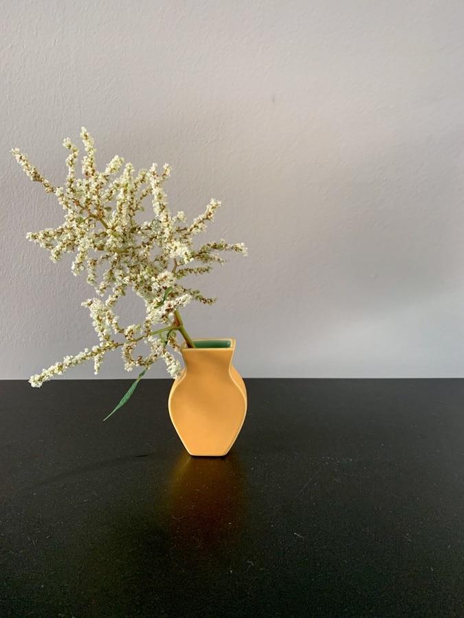 Little yellow vase