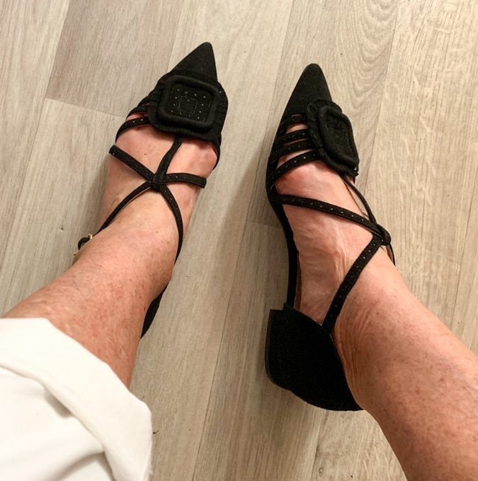 flat black shoes L'Autre Chose