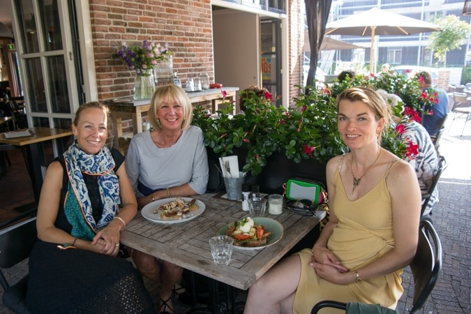 Sabine, me and Anke