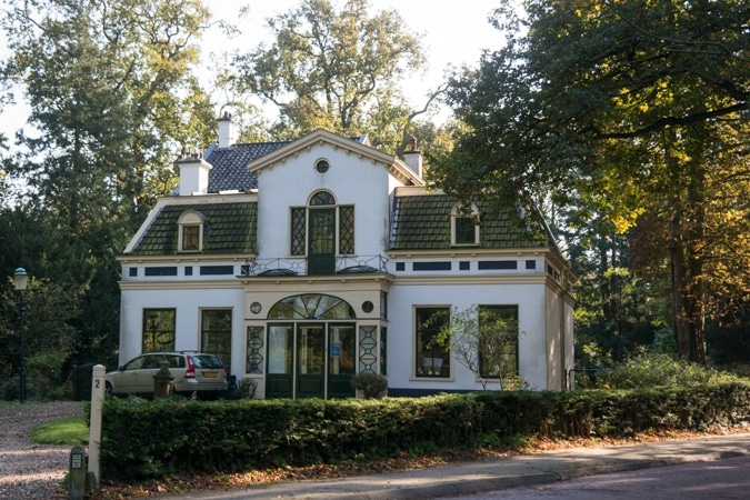 House near Elswout park and estate