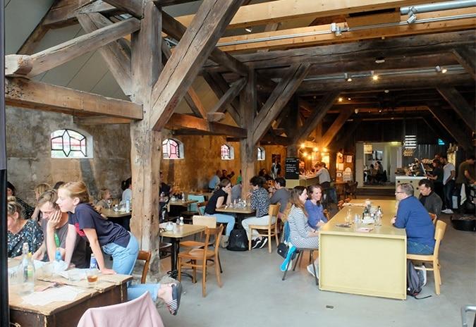 Café restaurant Polder Amsterdam