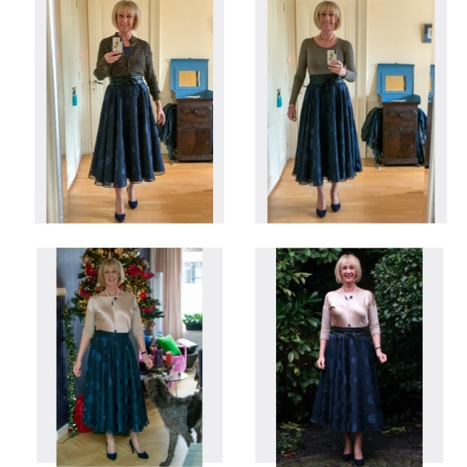 Christmas outfit 2019 collage
