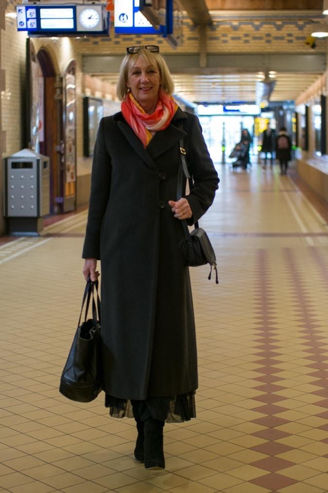 Brown coat Marella