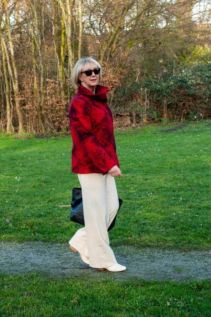 Red coat Kenzo