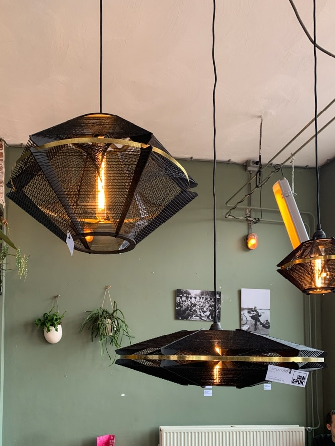 Lamps at Restaurant Wolkers Haarlem