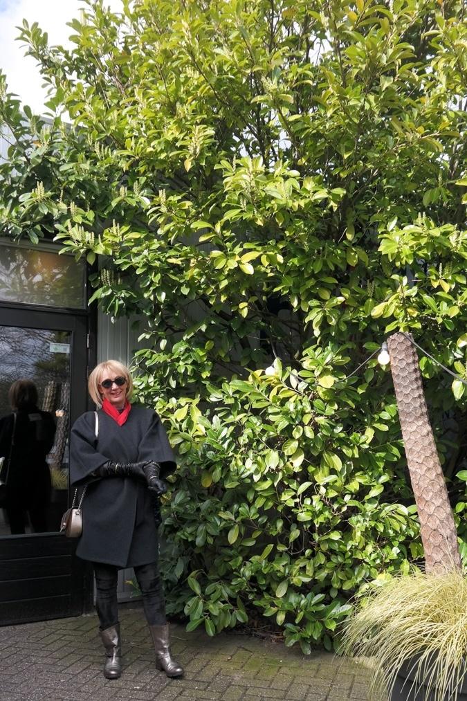 Kimono shaped coat