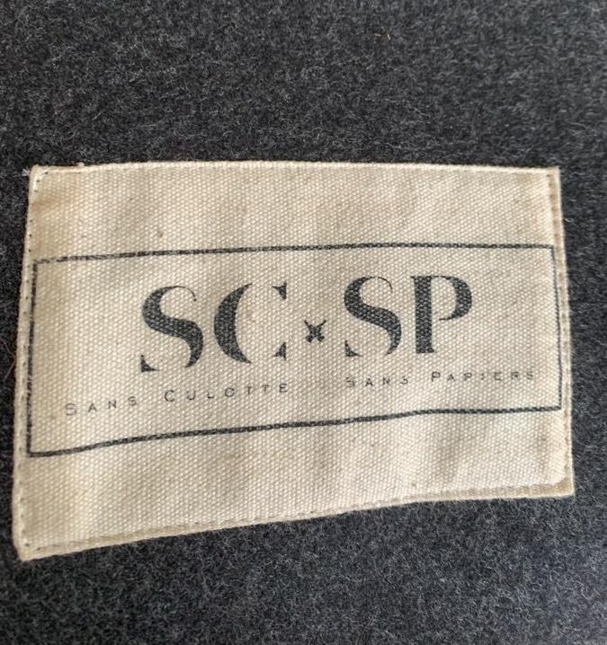 Kimono jacket label
