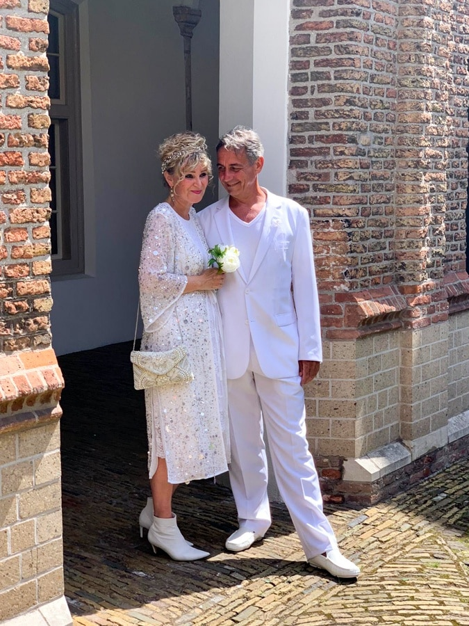 Anja and Frits getting married