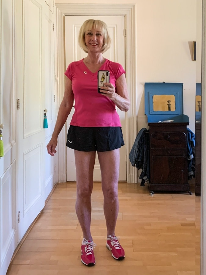 Shorts for exercise